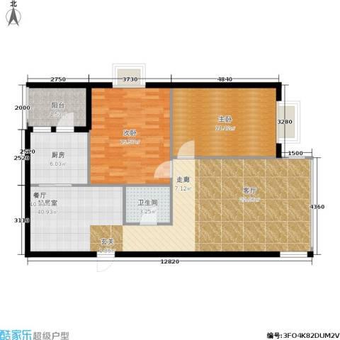 佳馨花园2室0厅1卫1厨95.00㎡户型图