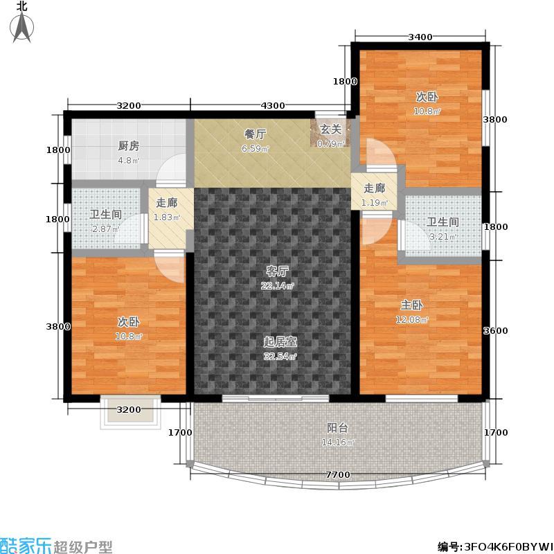 锦绣年华锦绣年华户型图(3/5张)户型10室