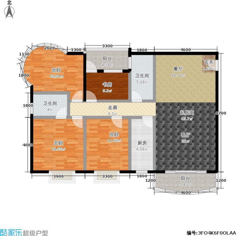 锦绣年华锦绣年华户型图(2/5张)户型10室