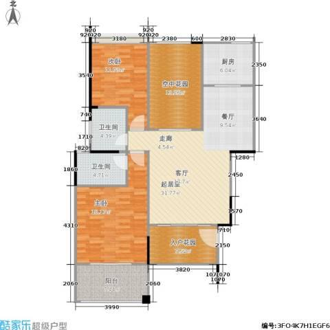 洱海传奇2室0厅2卫1厨113.00㎡户型图