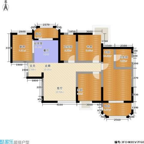 香克林小镇3室0厅2卫1厨128.00㎡户型图