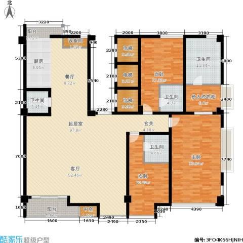 锦绣唐朝3室0厅4卫0厨296.00㎡户型图