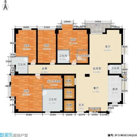 锦绣唐朝4室0厅4卫0厨322.00㎡户型图