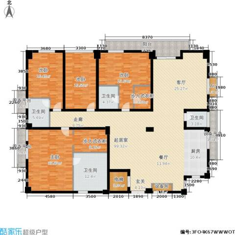 锦绣唐朝4室0厅4卫0厨335.00㎡户型图