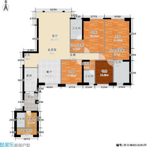 中骏天峰4室0厅4卫1厨250.00㎡户型图