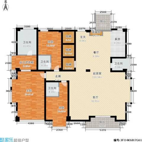 锦绣唐朝3室0厅4卫0厨265.00㎡户型图