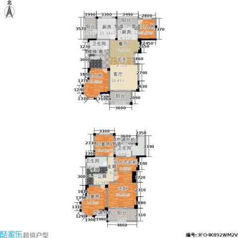 碧桂园滨湖城4室1厅3卫1厨291.00㎡户型图