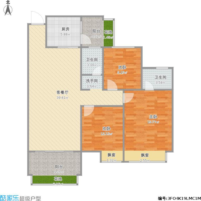 港保苑5楼1单元03户型