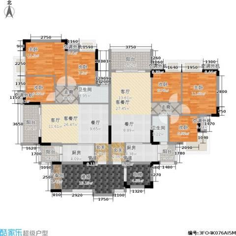 瑜翠园6室2厅2卫2厨222.00㎡户型图
