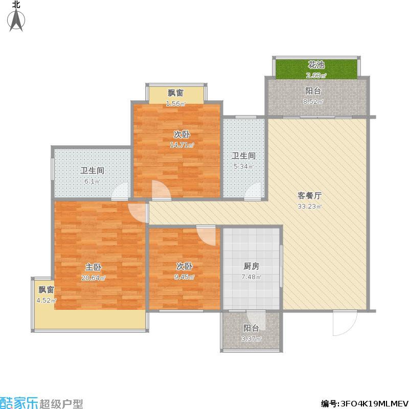港保苑5楼1单元01户型