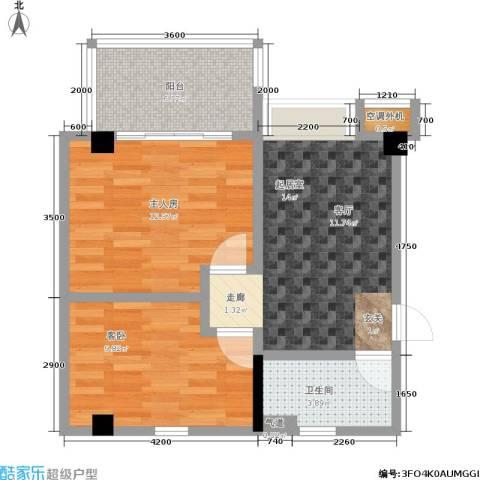 颐和雅轩1室0厅1卫0厨77.00㎡户型图