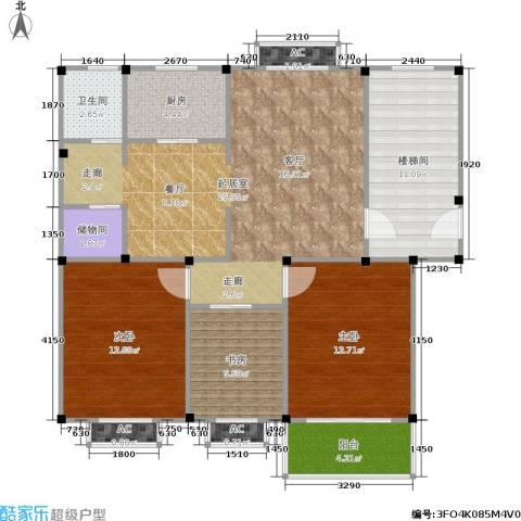 观滁新苑3室0厅1卫1厨93.00㎡户型图