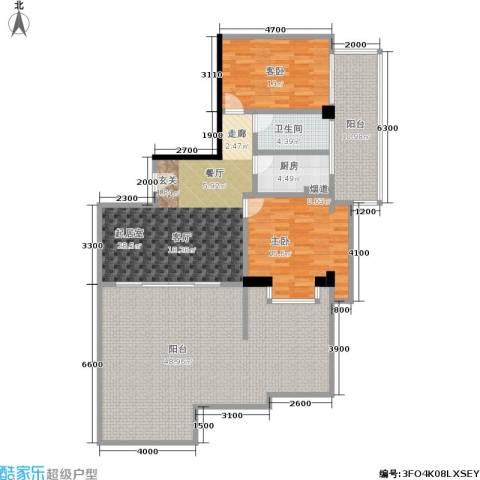 颐和雅轩2室0厅1卫1厨126.06㎡户型图