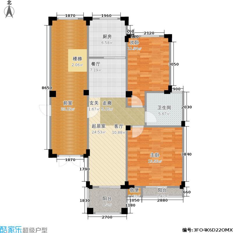 皇马花园皇马花园户型图(83/125张)户型10室