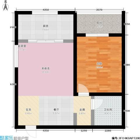 明德8英里1室0厅1卫1厨67.00㎡户型图