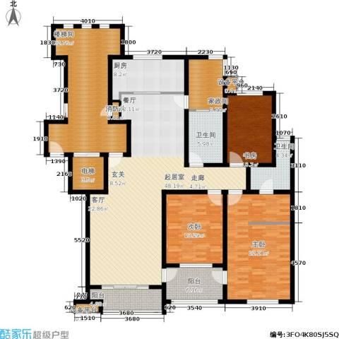 东山墅3室0厅2卫1厨180.00㎡户型图