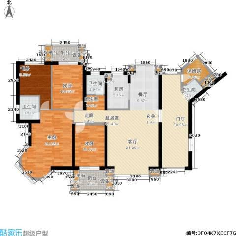 海晟维多利亚4室0厅3卫1厨170.00㎡户型图