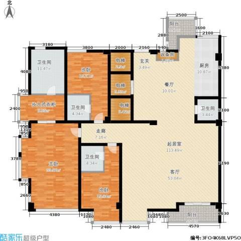 锦绣唐朝3室0厅4卫0厨271.00㎡户型图
