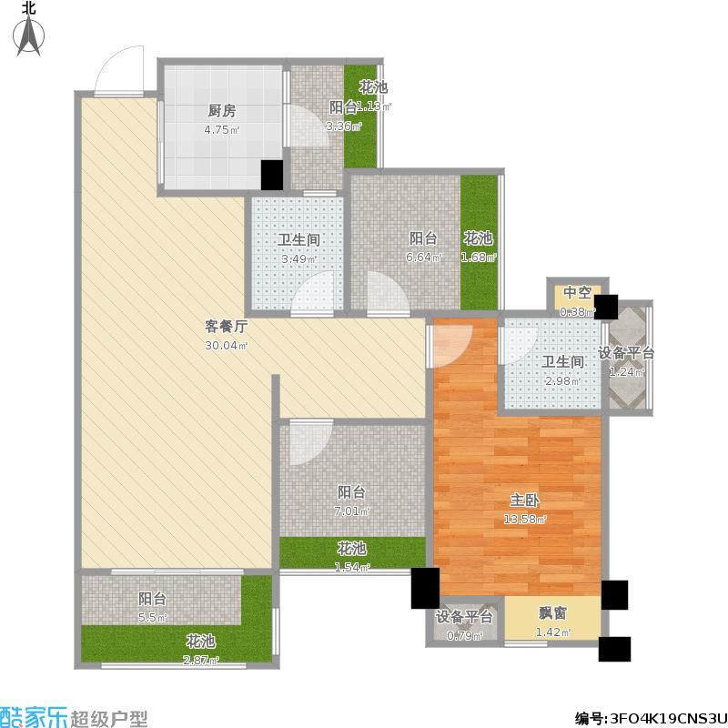 人和莱茵花语2楼1-03号房
