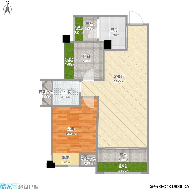 人和莱茵花语2楼1-05号房