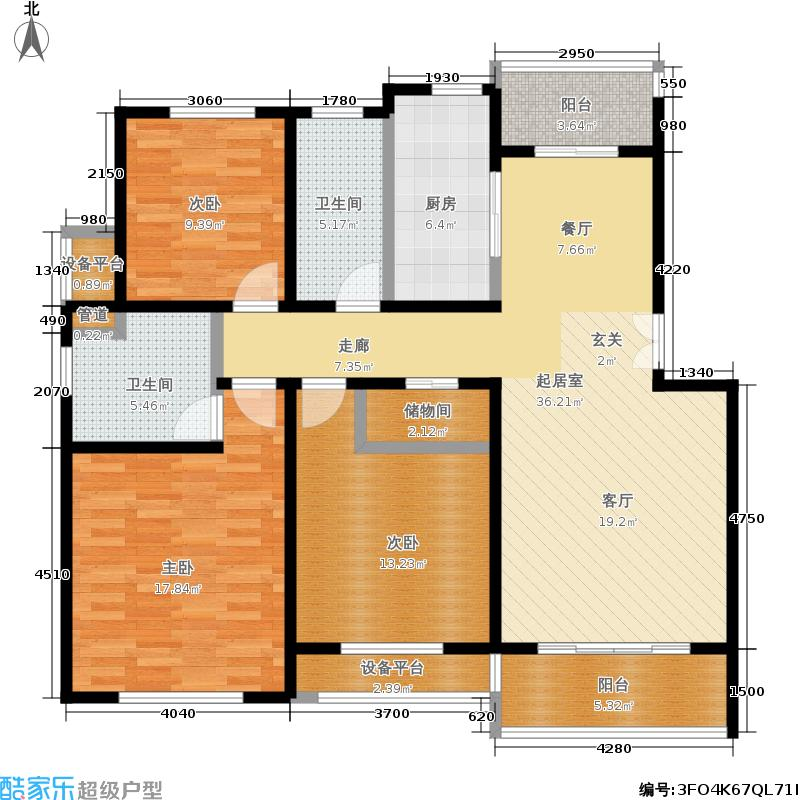 新创理想城新创理想城户型图多层E户型(15/27张)户型10室