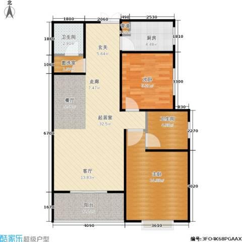 欧罗巴小镇2室0厅2卫1厨97.00㎡户型图