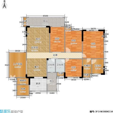 雍禾苑・康帕利小镇4室0厅3卫1厨156.00㎡户型图