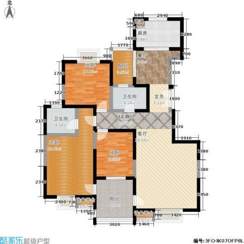 城西人家3室0厅2卫1厨129.00㎡户型图