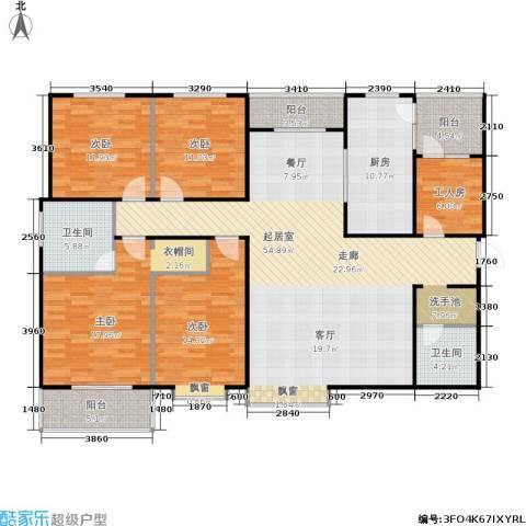 欧罗巴小镇4室0厅2卫1厨202.00㎡户型图