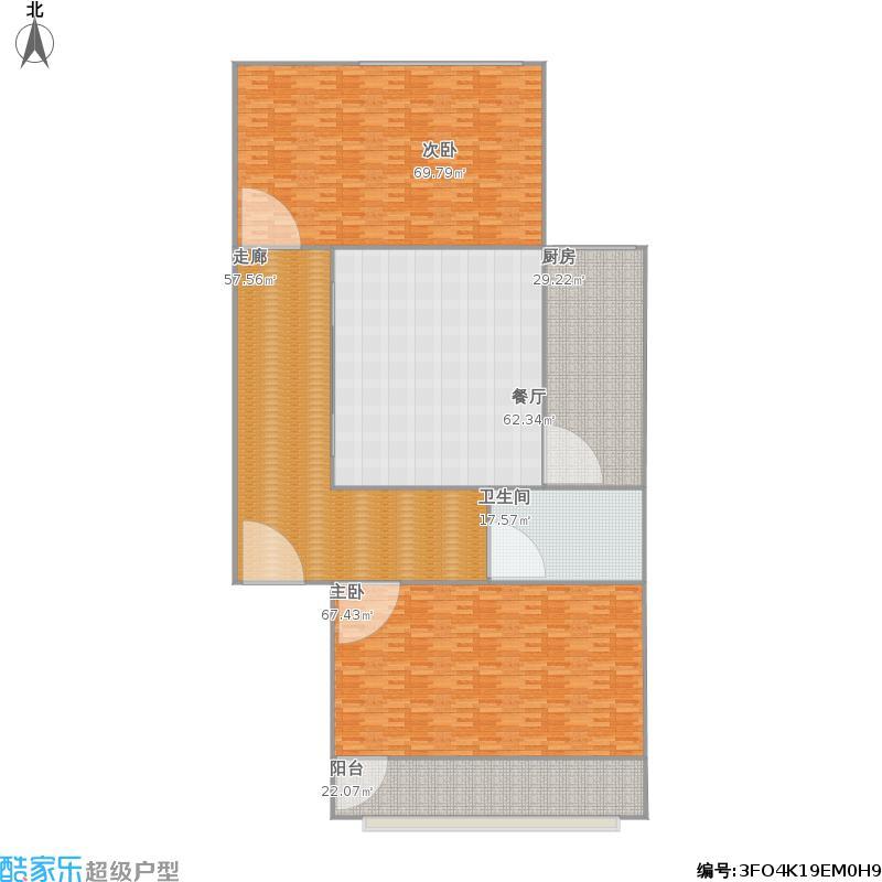 50平两室