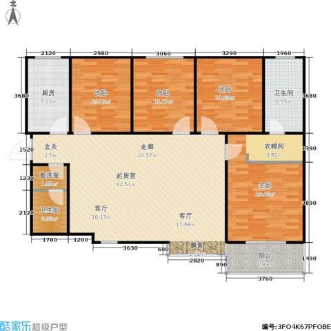 欧罗巴小镇4室0厅2卫1厨156.00㎡户型图