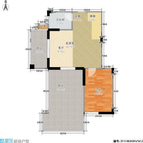 莱茵河畔花园1室0厅1卫0厨161.00㎡户型图