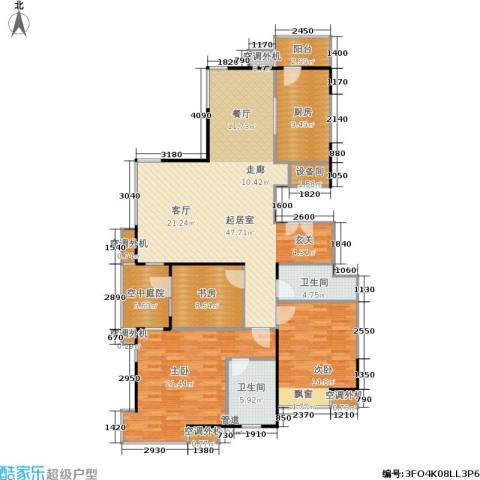 富力城3室0厅2卫1厨170.00㎡户型图