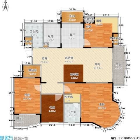 乡村花园南艳湾4室0厅2卫1厨145.00㎡户型图