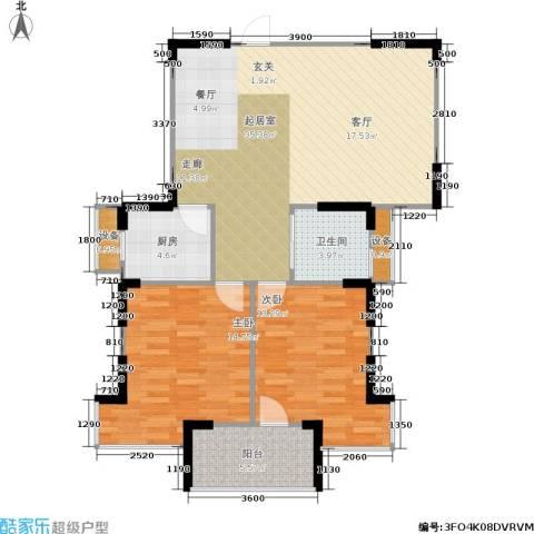 莱茵河畔花园2室0厅1卫1厨157.00㎡户型图