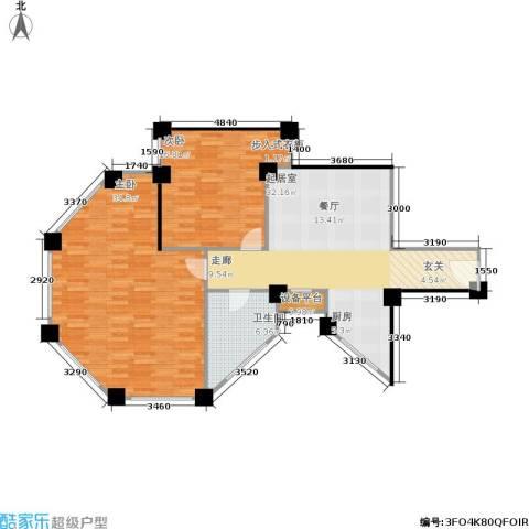水木华庭2室0厅1卫0厨124.00㎡户型图