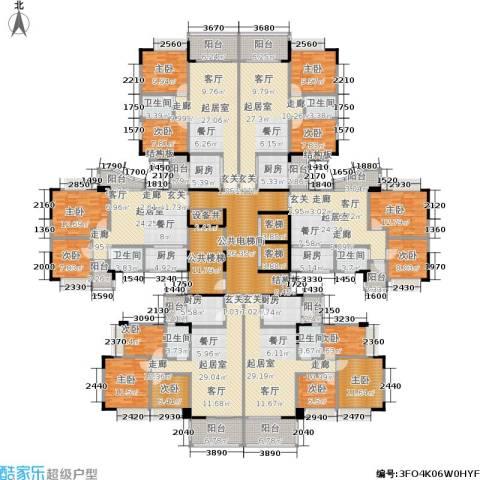 阳光假日园9室0厅6卫6厨627.00㎡户型图