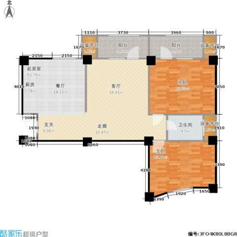 水木华庭2室0厅1卫0厨144.00㎡户型图