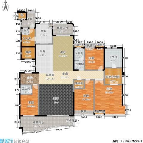 融科紫檀4室0厅4卫0厨283.00㎡户型图