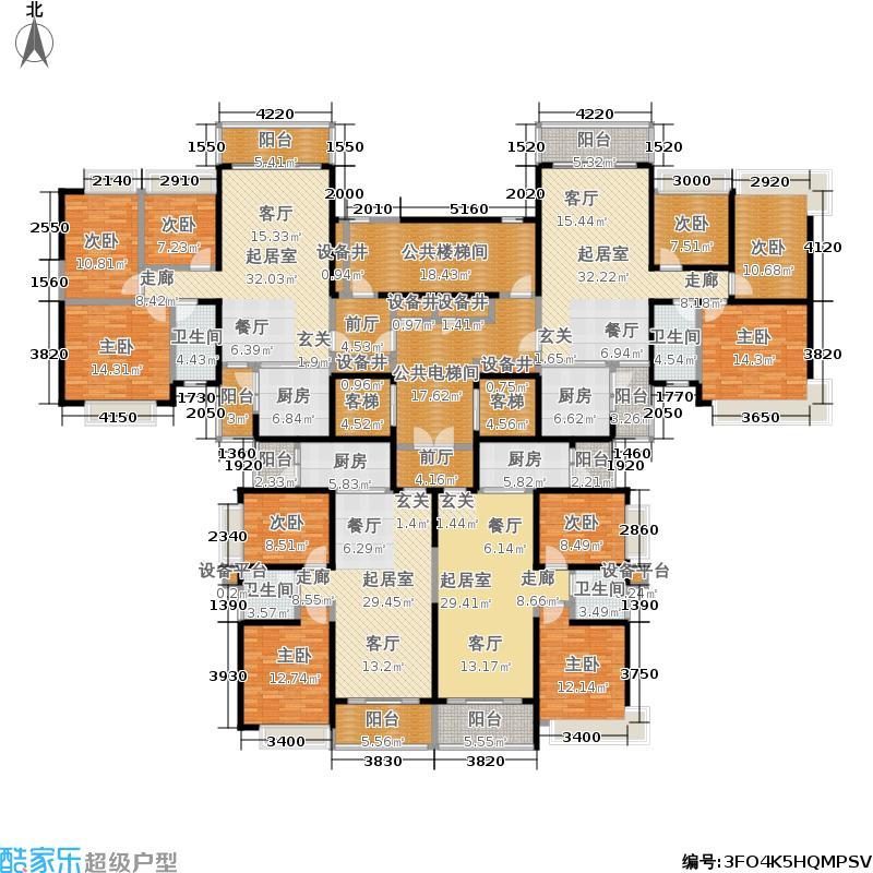 恒大城恒大城户型图(1/25张)户型10室