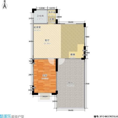 莱茵河畔花园1室0厅1卫0厨182.00㎡户型图