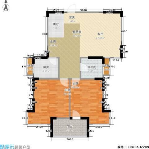 莱茵河畔花园2室0厅1卫1厨99.00㎡户型图