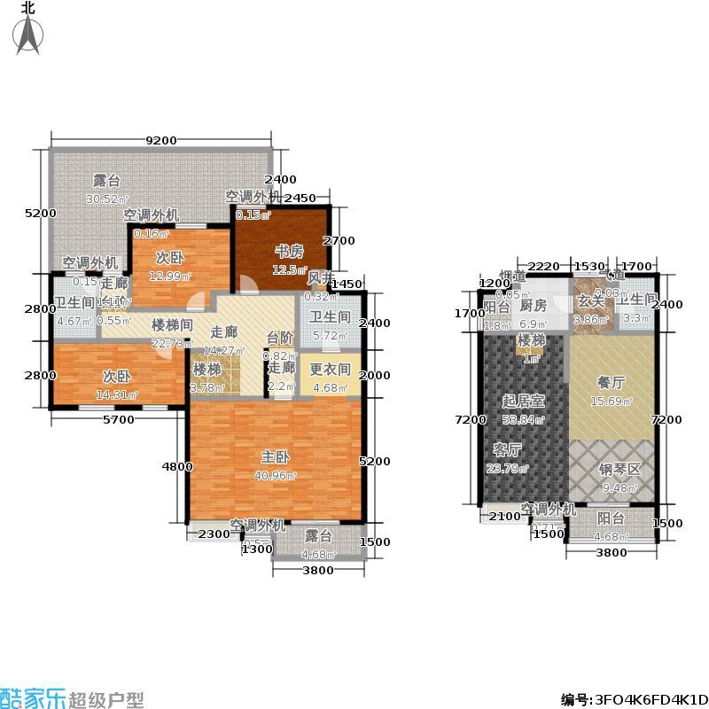 中兴和园中兴和园户型图1#23单元-02-F10户型(20/24张)户型3室2厅3卫