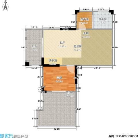 莱茵河畔花园1室0厅1卫0厨181.00㎡户型图