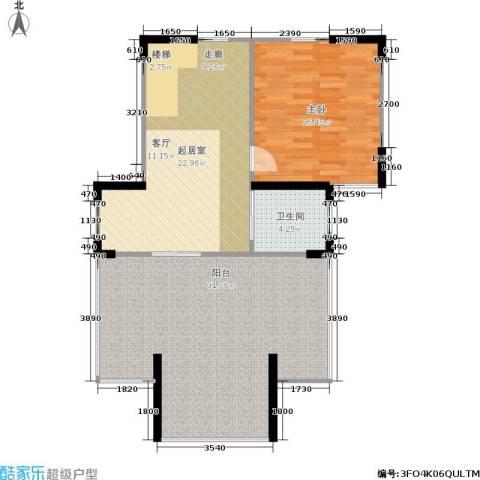 莱茵河畔花园1室0厅1卫0厨157.00㎡户型图