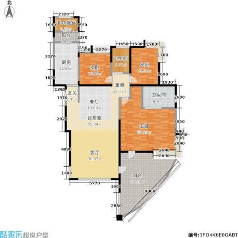 圣莫丽斯三期3室0厅2卫1厨210.00㎡户型图