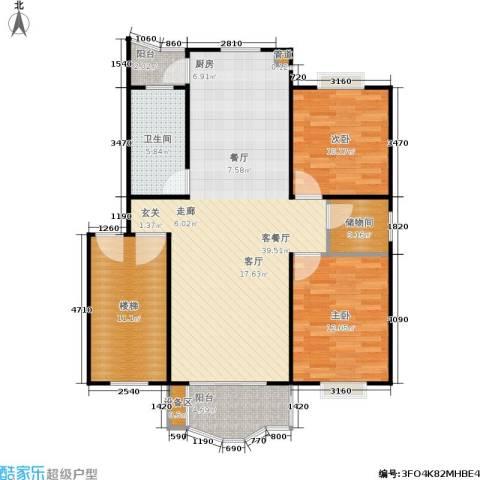 德润园2室1厅1卫0厨120.00㎡户型图