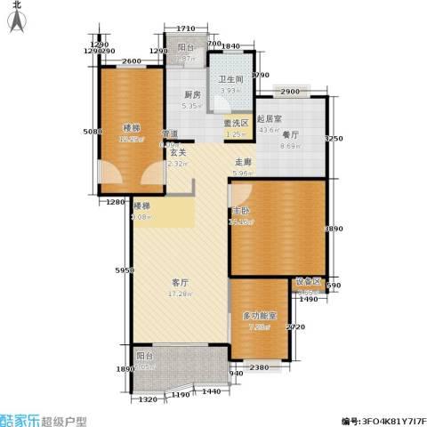 德润园1室0厅1卫0厨121.00㎡户型图