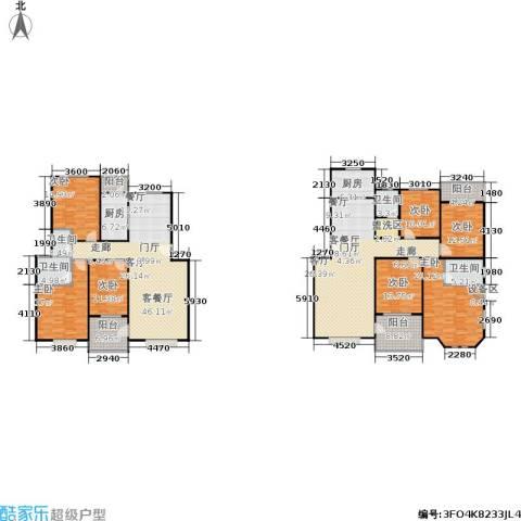 滨江美寓7室2厅4卫2厨246.95㎡户型图