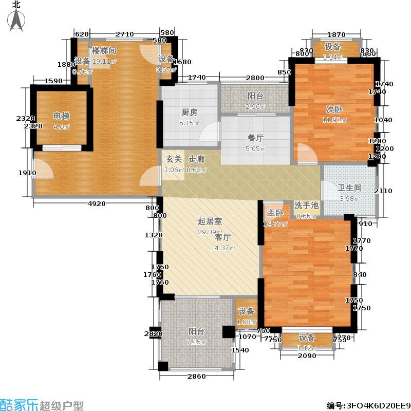 皇马花园皇马花园户型图(75/125张)户型10室